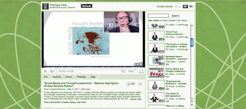 Social Media and Thought Leadership Thinque Tank