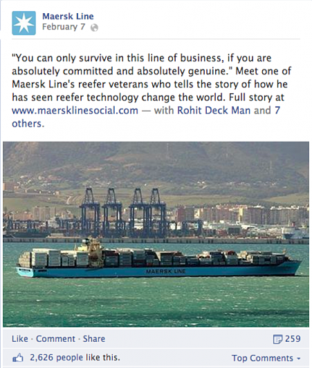 Maersk B2B Marketing