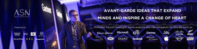 Futurist and Brand Ambassador Anders Sorman-Nilsson