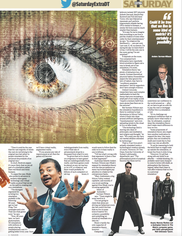 Daily Telegraph Media Futurist Anders Sorman-Nilsson