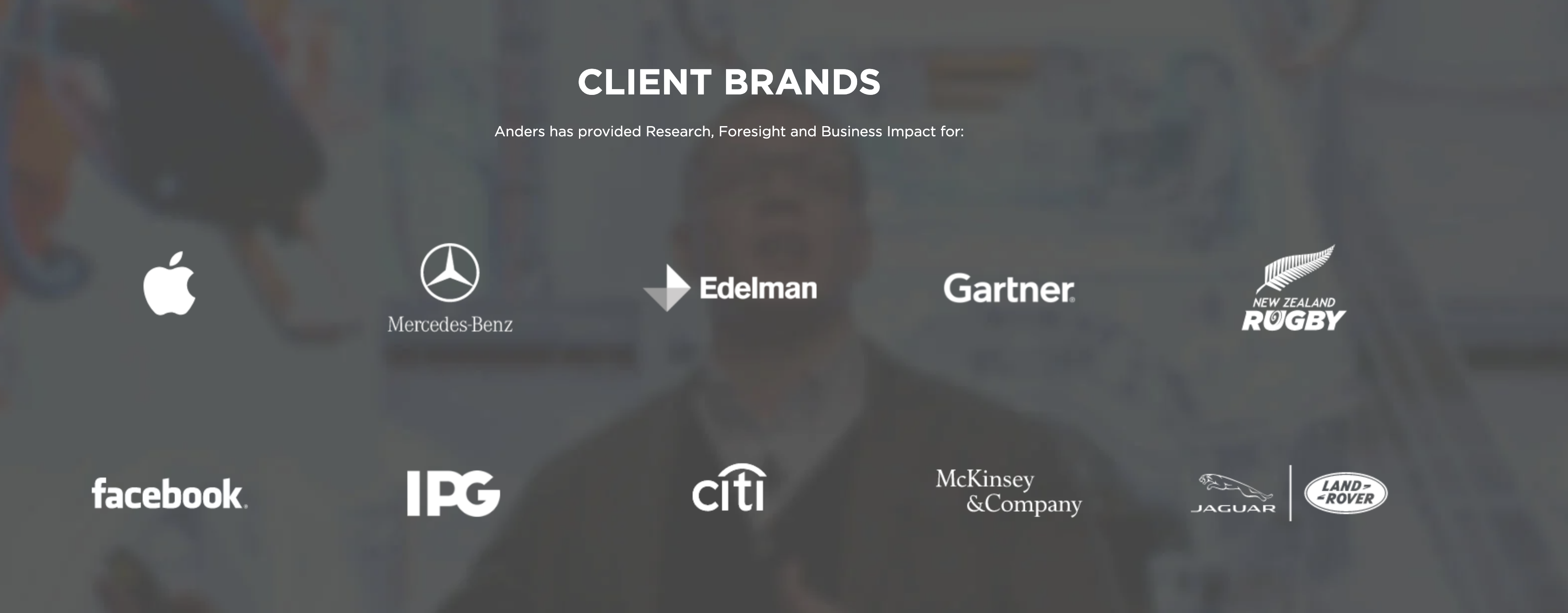 Futurist Anders Sorman-Nilsson Client Brands