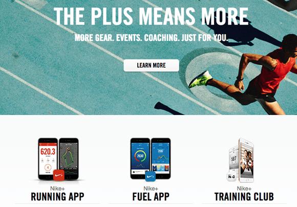 Nike+ brand experience