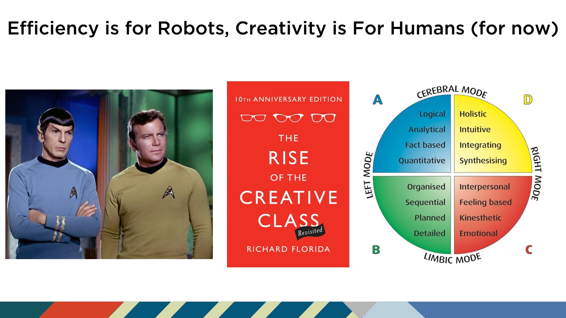 Spock and Kirk HBDI Futurist Anders Sorman-Nilsson