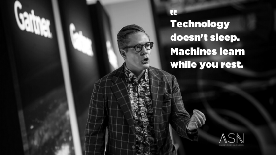 Technology doesn't sleep Futurist Anders Sorman-Nilsson