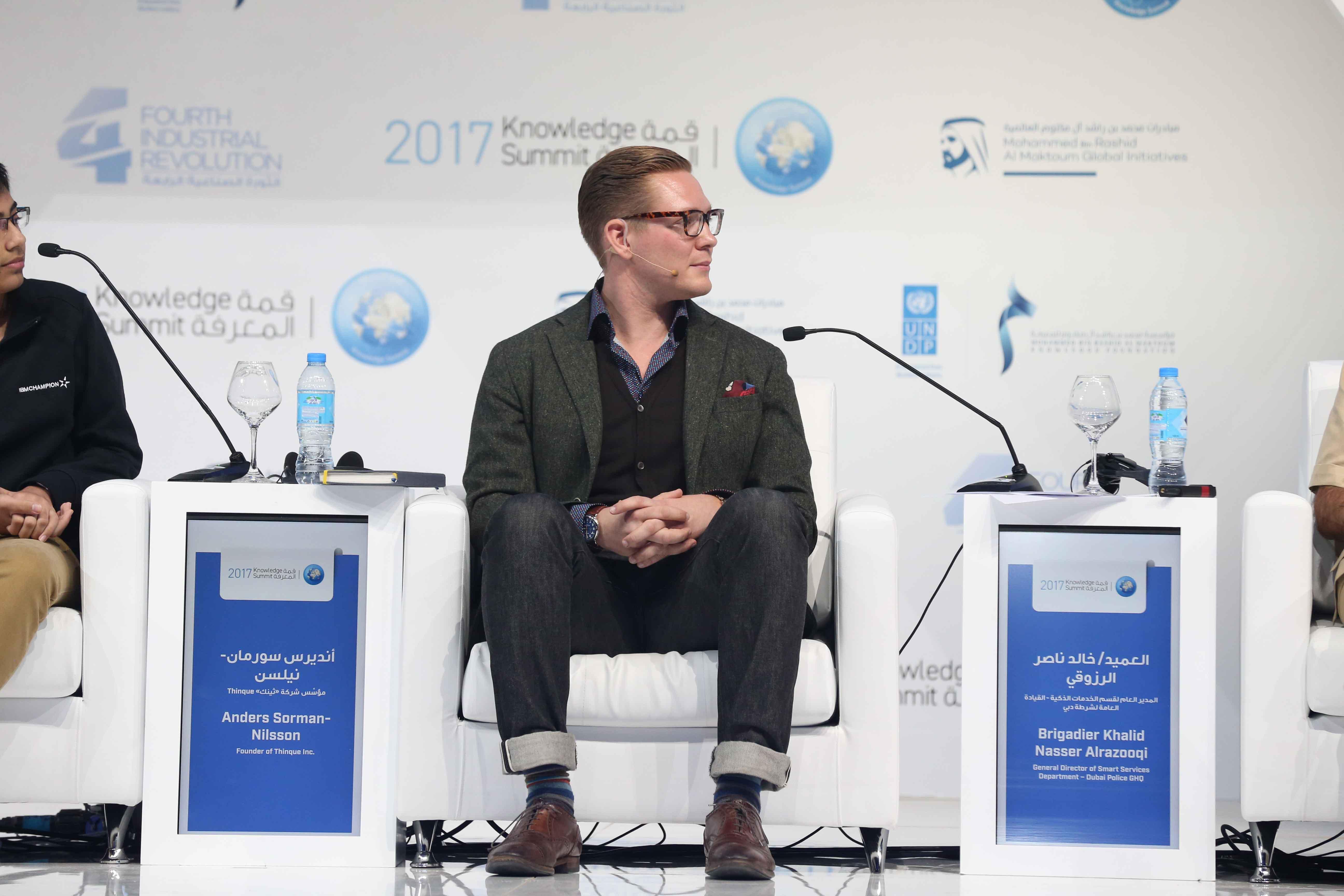 Futurist Speaker Anders Sorman-Nilsson Dubai Knowledge Summit