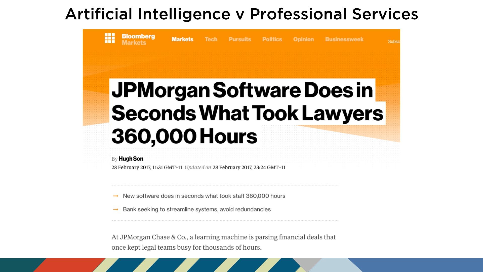 JP Morgan Futurist Anders Sorman-Nilsson