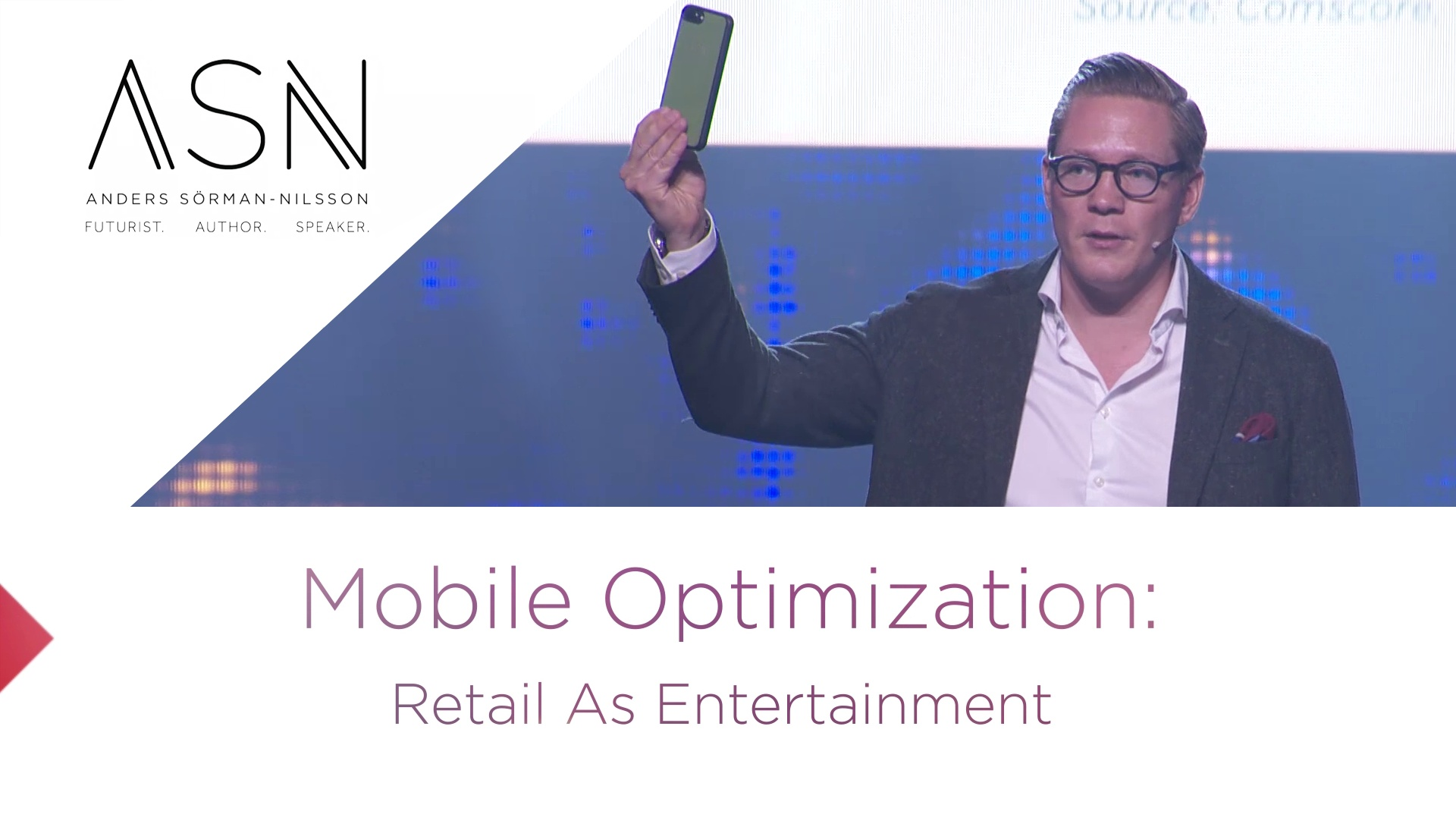 Mobile Optimization - Retail as Entertainment ASN