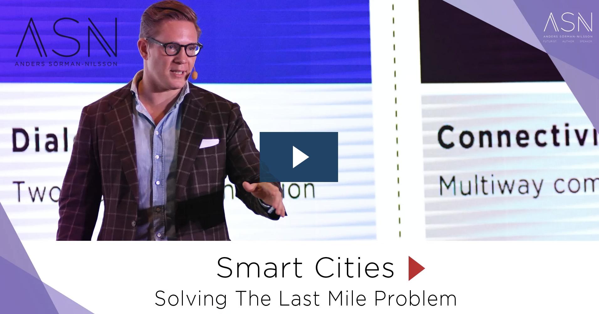 Smart Cities Futurist Anders Sorman-Nilsson
