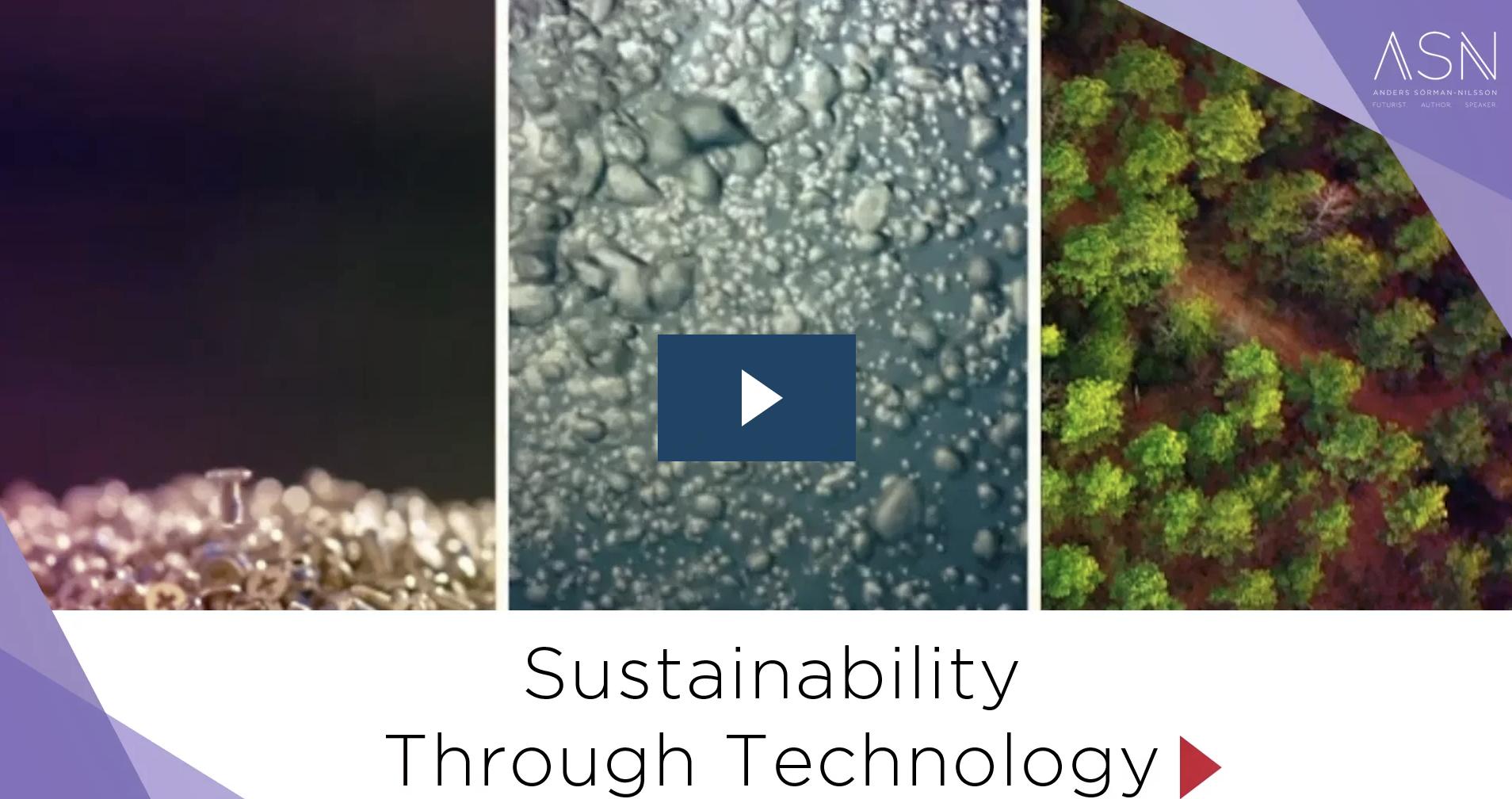Sustainable Futures Futurist Anders Sorman-Nilsson