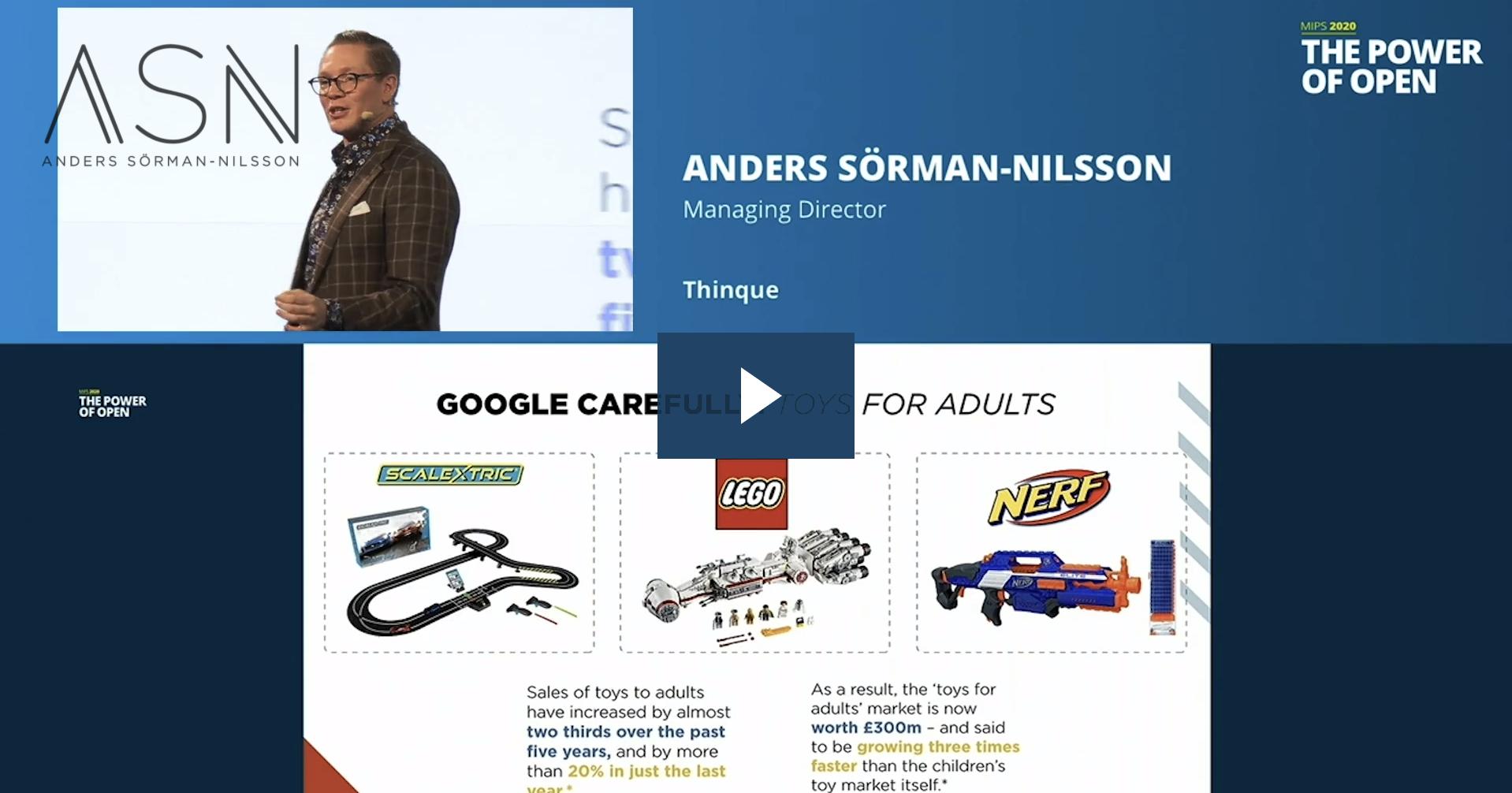 Lego Futurist Keynote Speaker Anders Sorman-Nilsson