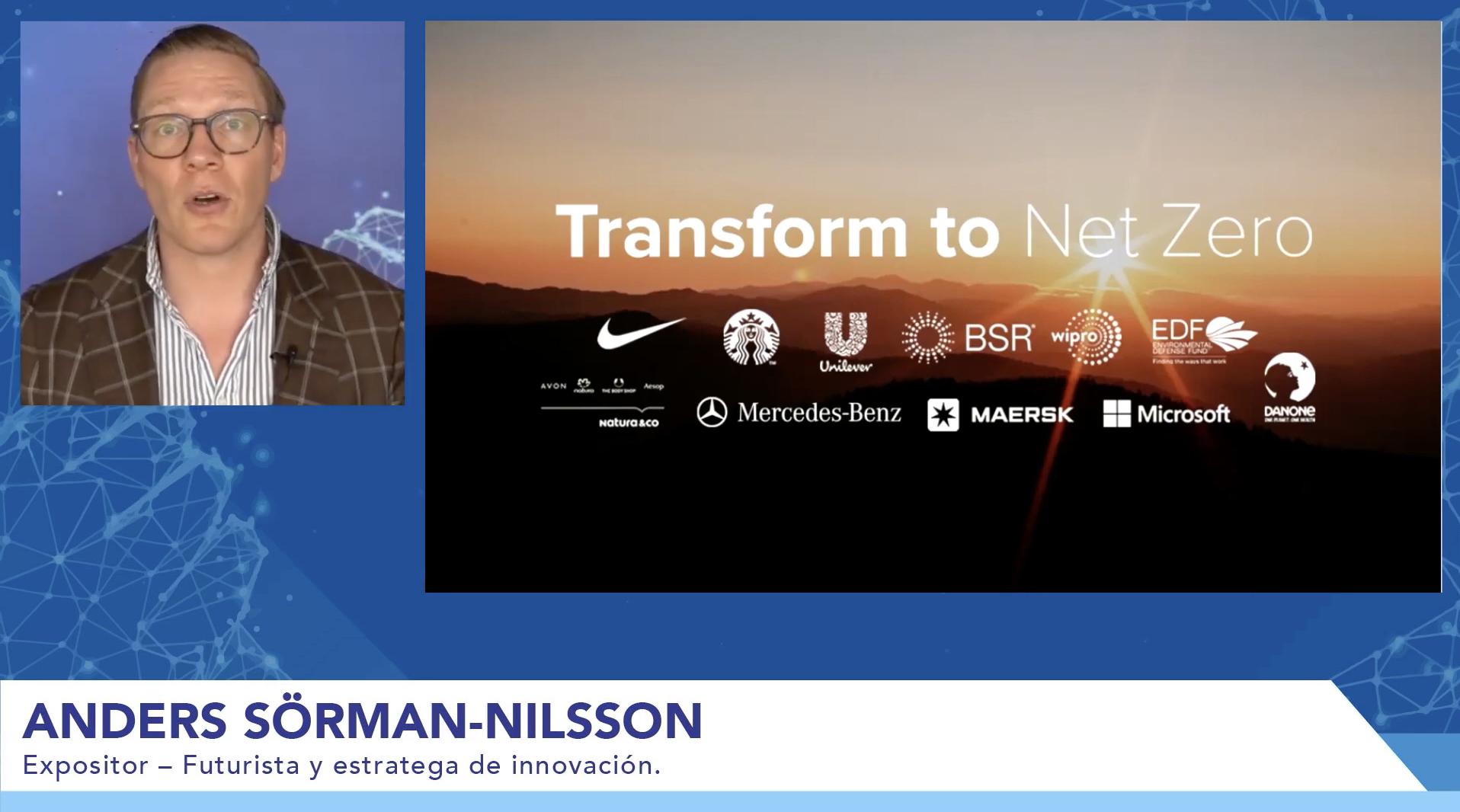 Sustainability Futurist Anders Sorman-Nilsson