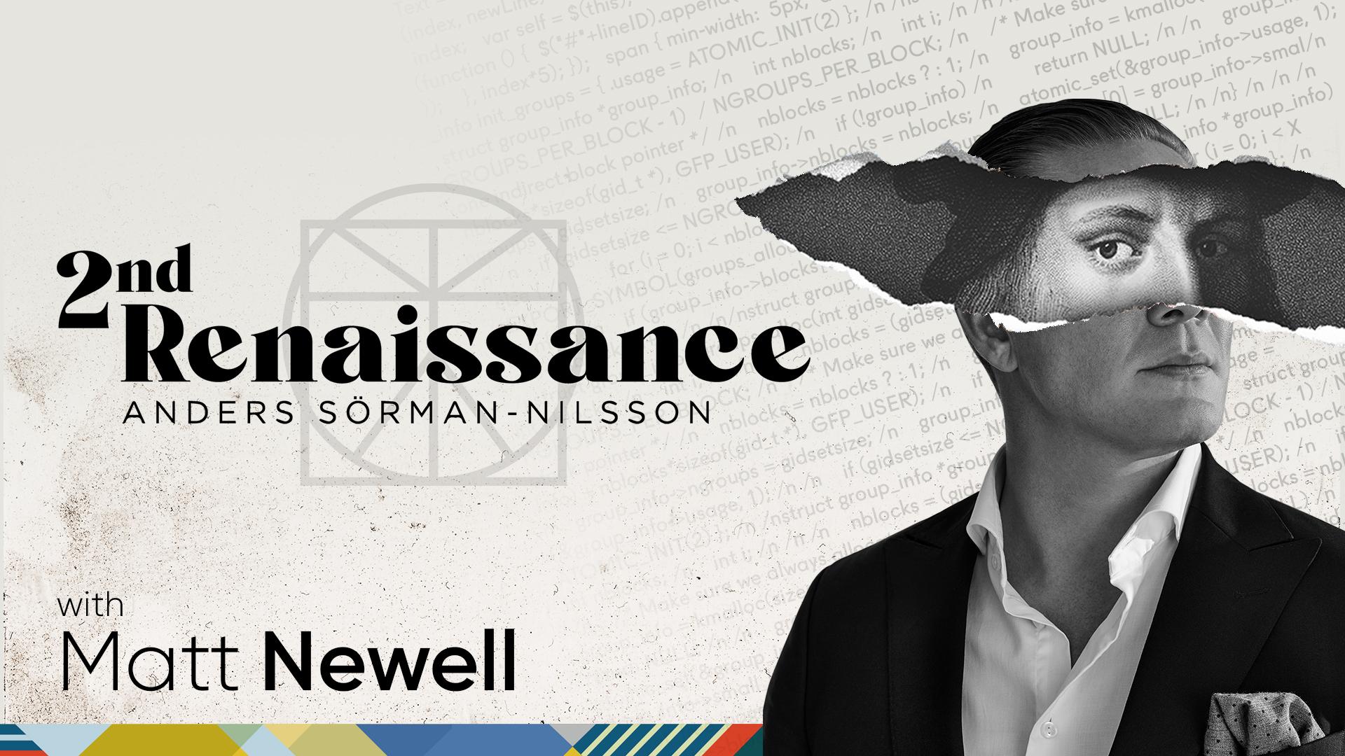 2nd Renaissance Futurist Anders Sorman-Nilsson