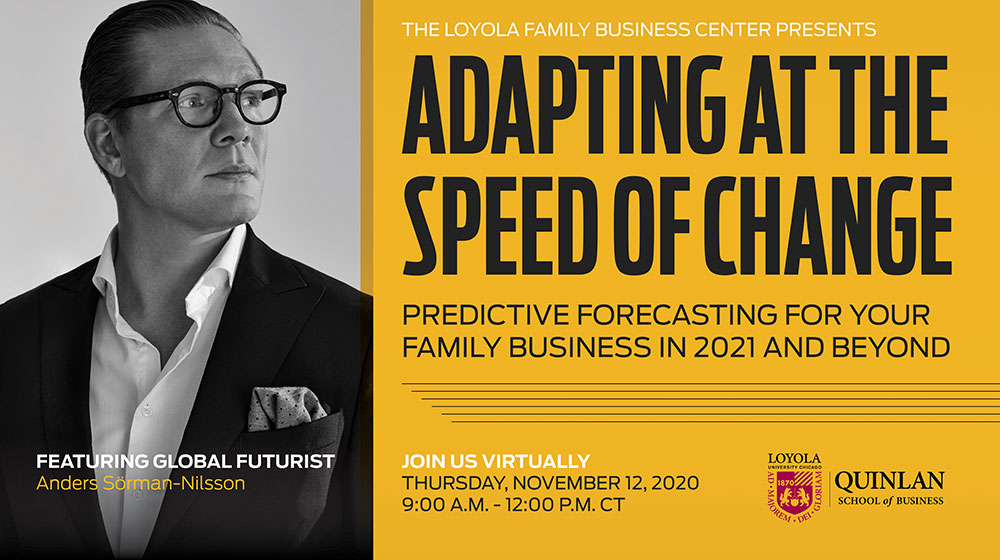 Family Business Futurist Anders Sorman-Nilsson